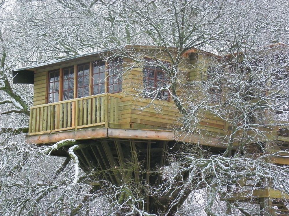 vacances cabanes dans les arbres